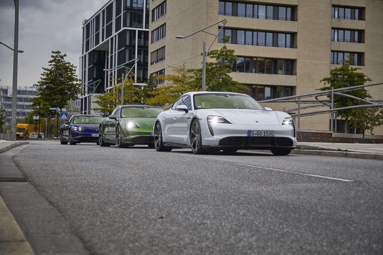Foto de Porsche Taycan prueba contacto (153/275)