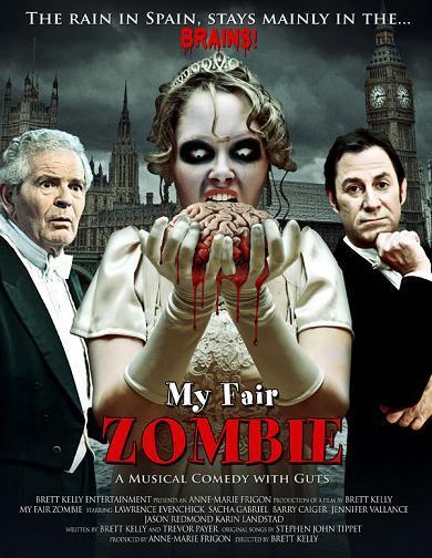 Cartel de 'My fair zombie'