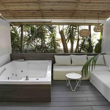 Inspiración mediterranea en la reforma integral de las habitaciones del Hotel Kaktus Playa