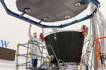 Así es el escudo térmico de la primera misión espacial al Sol