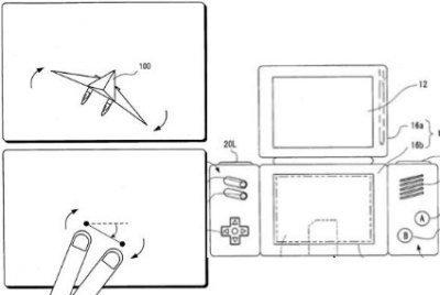 Diseño desechado de Nintendo DS