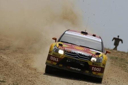 Petter Solberg peca de conservador los dos primeros días del Rally de Jordania