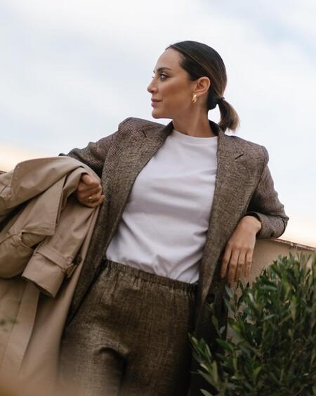 El nuevo look de Tamara Falcó es ideal para ir a la oficina esta primavera y afrontar los días fresquitos que están por venir