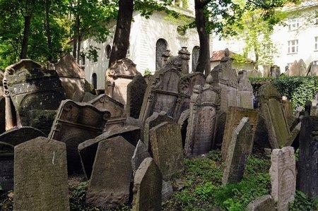 El cementerio judío de Praga