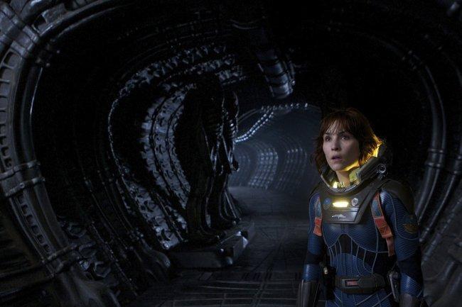 Noomi Rapace en 'Prometheus'