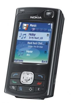 Nokia N80 negro con Orange