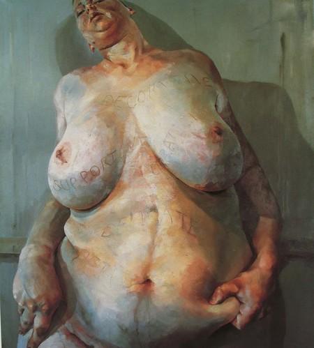Jenny Saville Fat Female