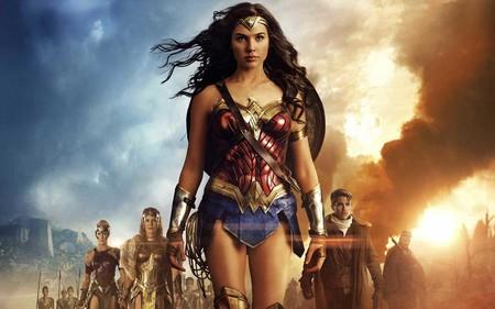 No solo moda: la imponente llegada de Wonder Woman