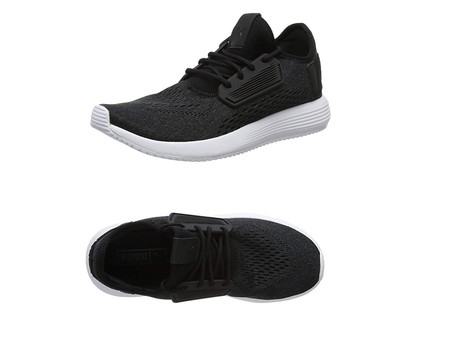 Gracias a Amazon podemos hacernos con unas zapatillas Puma Uprise Mesh en negro desde sólo 24,29 euros