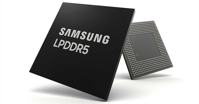 Samsung llega primero al LPDDR5 y estrena un chip de 8GB de RAM para móviles