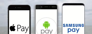 Android Pay llega a España: principales características y cómo queda frente a Apple Pay y Samsung Pay