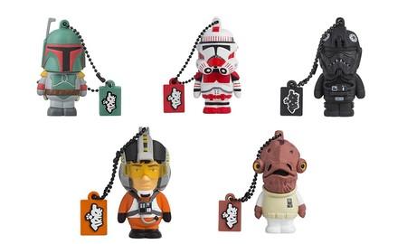 Memorias USB de 8 Gb Tribe, de Star Wars y los Minion, a sólo 8,99 euros en Amazon