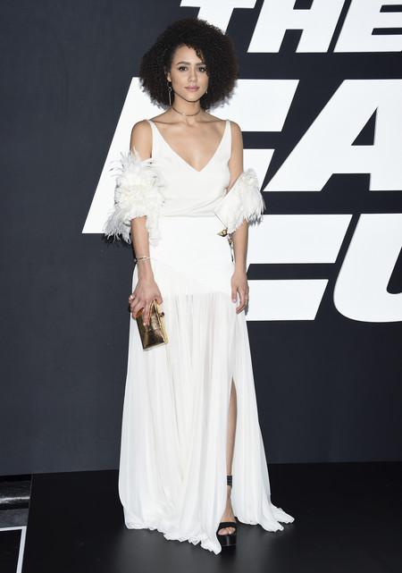 juego de tronos estilismo look alfombra roja actrices Nathalie Emmanuel