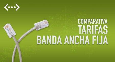 Comparativa de febrero de las tarifas de banda ancha fija ¡saber es ahorrar!