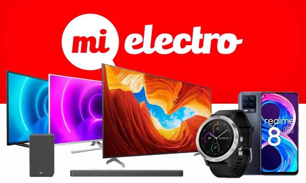 Smart TVs, smartphones, smartwatches o barras de sonido superrebajadas en las ofertas de MiElectro