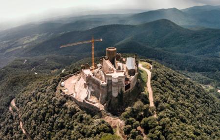 castillo de montsoriu