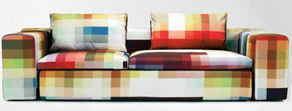 El sofá perfecto para los fans del píxel