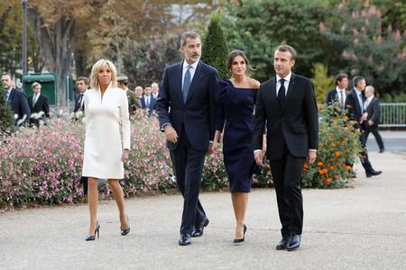 Letizia Ortiz Brigitte Macron 2