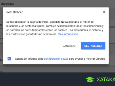 Cómo restablecer Google Chrome para que se quede como recién instalado