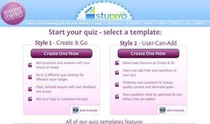 My studiyo, creando nuestros propios concursos para nuestra web