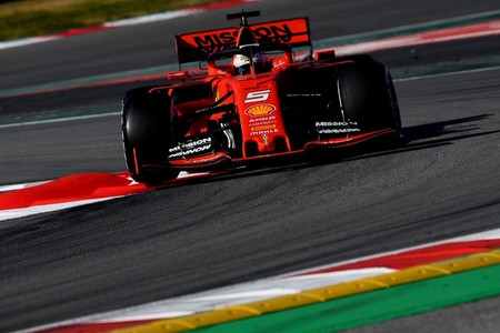Vettel Ferrari Pretemporada