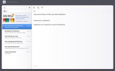 Simplenote, la forma sencilla de guardar tus anotaciones online