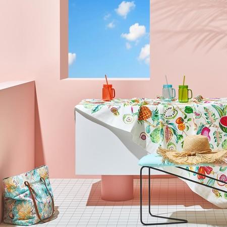 ¿Te gustan las mesas bonitas? Nos vamos de rebajas para darle un aire nuevo a tu mesa de verano