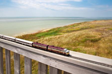 Train Saskatchewan Chaplin Lake