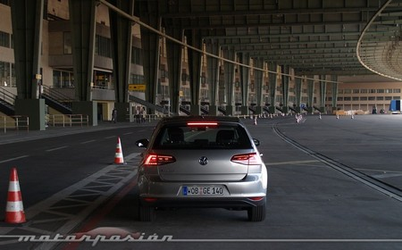 Volkswagen e-Golf aeropuerto de Tempelhof