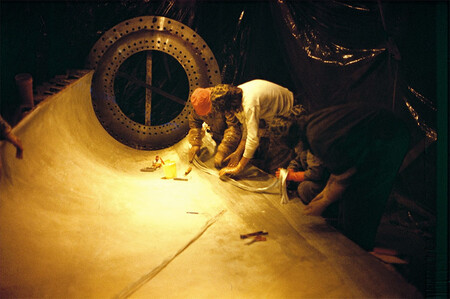 Fabricación de las palas