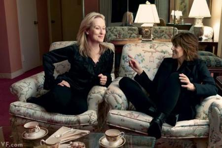 Norah Ephron y Meryl Streep