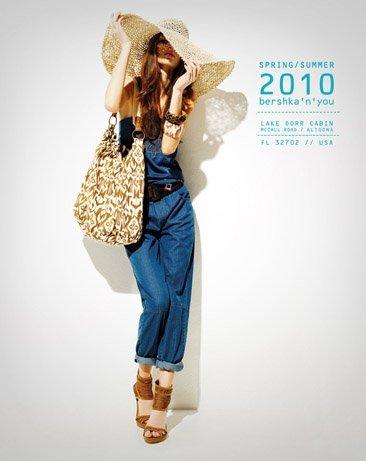 Bershka viste a la mujer joven este verano 2010: lookbook completo con todos los estilos VII