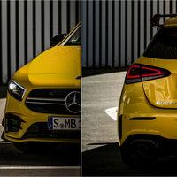 Así luce el nuevo Mercedes-AMG A 35 en sus primeras fotografías a modo de teaser