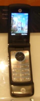 3GSM: Motorola KRZR K3, nuestras impresiones