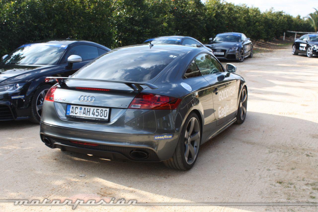 Goodyear Eagle F1: Audi TT RS, Audi A7 y Mercedes CLS