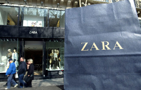 Zara venderá sus productos on line en 2010