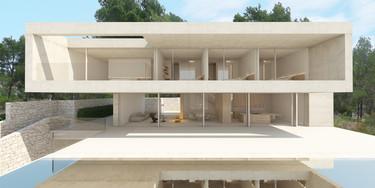 Una casa en Alicante diseñada con hormigón y de arquitectura espectacular