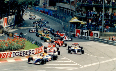 Salida GP Mónaco 1992