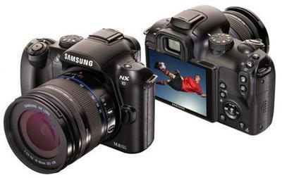 Samsung NX10, ya es oficial