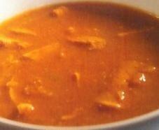 Sopa de trufas con castañas y setas