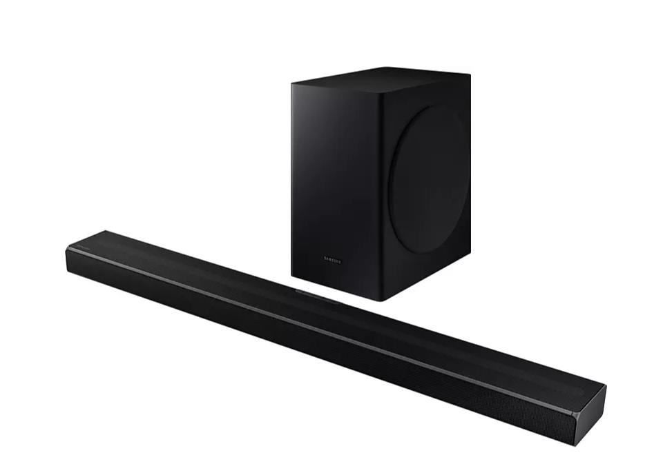 Barra de Sonido - Samsung 2020 HW-Q60T, DolbyDigital 5.1, Q Symphony, Subwoofer inalámbrico, Acoustic Beam 2.0