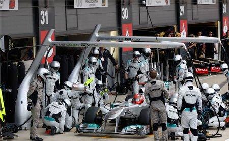 Estadísticas de la Fórmula 1: Paradas más rápidas en boxes