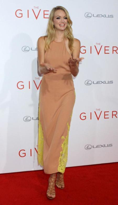 Lindsay Ellingson vestido