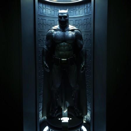 Imagen del nuevo Batman de Zack Snyder