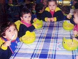 Menús escolares ecológicos en Andalucía