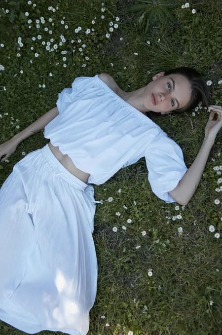Tops Blusas Blancas Verano 2020 Sfera 11