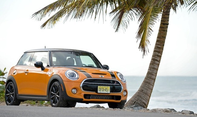 MINI Cooper S (2014) amarillo