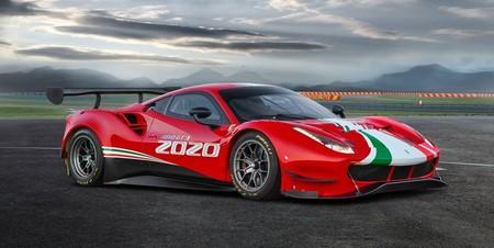 Ferrari 488 GT3 Evo, listo para devorar asfalto en el 2020