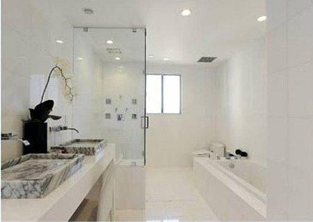 El baño de Justin Bieber