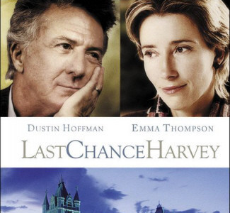 Póster de 'Last Chance Harvey', con Dustin Hoffman y Emma Thompson